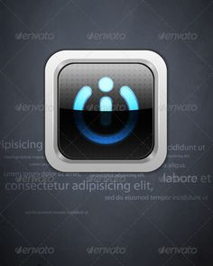 Wall Background GraphicRiver Power Button On The Gray Grunge Wall