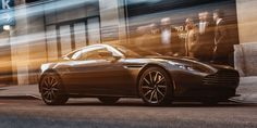Aston Martin stopped by our office with the only DB11 in the United States.