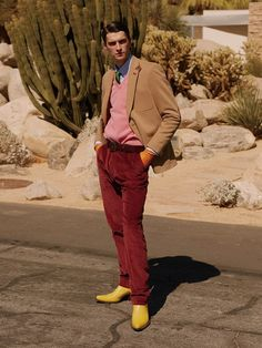 Palm Springs: Matthew Bell Stars in El Pais Icon November 2017 Issue