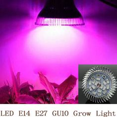 Full spectrum LED Grow light 18W E14 /E27/GU10 LED Grow lamp bulb for Flower plant Hydroponics system AC 85V 110V 265V grow box-in Grow Lights from Lights & Lighting on Aliexpress.com | Alibaba Group