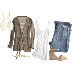 casual, created by sarrc on Polyvore
