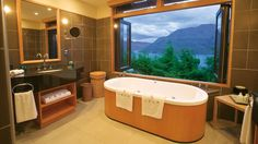 What's better then relaxing in a luxurious hotel bathtub? Relaxing in a luxurious hotel bathtub with an incredible view. Here are our favorites.