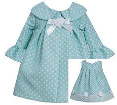 Bonnie Jean Baby Girls Easter Dress & Coat, Aqua, 18M Bonnie Jean http://www.amazon.com/dp/B00SLXUHOM/ref=cm_sw_r_pi_dp_DnYevb0RW933G