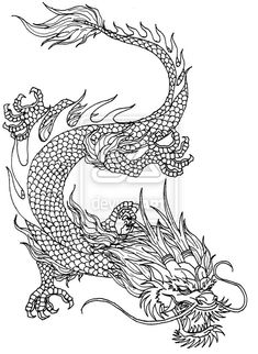 Chinese Imperial Dragon by Kerberos-of-Hades.deviantart.com on @deviantART