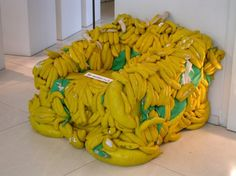 Banana chair, Ghent and Lier, Belgium
