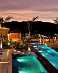 The villa's large hillside pool terrace offers plenty of seclusion and elevated ocean views. #Jetsetter  http://www.jetsetter.com/homes/mexico/punta-de-mita/1671/casa-querencia?nm=collection=1