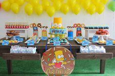 Festa com Gosto: Os Simpsonssss