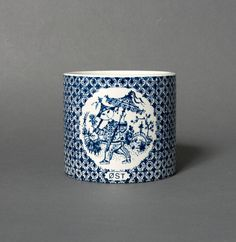 bjorn wiinblad vase nymolle blue denmark faience by northvintage, kr250.00