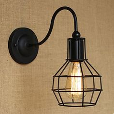 Modern Bars And Restaurants, Wrought Iron Wall Lamp, The Sitting Room Corridor Stairs Cafe 4747563 2016 – $41.99