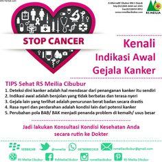 Perhatikan #kanker #sakit #penyakit #sehat #kesehatan #dokter #spesialis #rumahsakit #rsmeilia #cibubur #depok #cileungsi #bekasi #bogor #jakarta Tips, Counseling