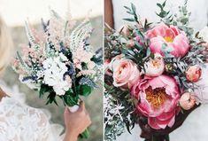 18 vackra brudbuketter att inspireras av