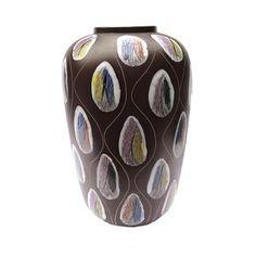 1950s Rare Bay Kongo Vase By Bodo Mans Bodo, 1950s, Vase, Ceramics, Decor, Ceramica, Pottery, Decoration, Ceramic Art