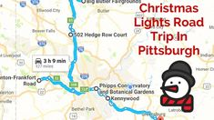 Buckle up and get ready for holiday magic on this Christmas lights road trip in Pittsburgh.