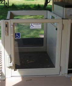 AccessNSM's Indoor/Outdoor Wheelchair MultiLifts are durable, rugged units, designed for interior and exterior installation. With a 72in/6ft maximum floor-to-floor lift height, these wheelchair lifts fit many applications.