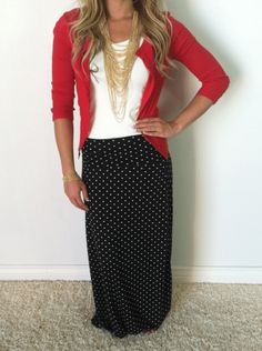 Maxi Skirt Outfits 077