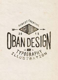 Oban Design Branding