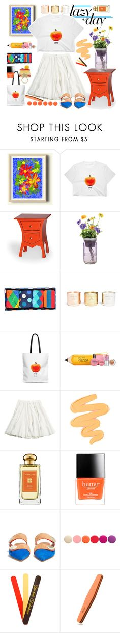 """My Perfect Lazy Day"" by j477 ❤ liked on Polyvore featuring Modern Sprout, Happy Socks, Tom Dixon, Benefit, CÉLINE, Sigma, Jo Malone, Butter London, Malone Souliers and Deborah Lippmann"
