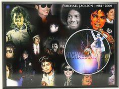 MICHAEL JACKSON #3 PICTURE CD LTD EDITION PLAQUE FREE U.S. PRIORITY SHIPPING - http://www.michael-jackson-memorabilia.com/?p=8302