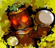 Mokujin by gammanaut on DeviantArt Tekken 7, Playstation Portable, Fighting Games, Nintendo 3ds, Wii U, Arcade, Video Game, Chibi, Deviantart