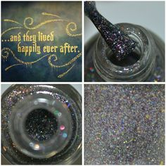 New! Happily Ever After ~ Fairytale Flakie Collection Disney Princess inspired Indie Nail Polish by MDJ Creations by MDJCreations on Etsy