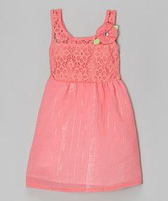 Lace Floral Dress - Infant, Toddler & Girls
