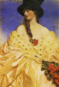 Frank Cadogan Cowper : Eve 1919  http://2.bp.blogspot.com/_dLSVgS5AxBI/TAOGHYBTZoI/AAAAAAAAsu4/yg-JyXANRuU/s1600/Eve_Cowper.jpg