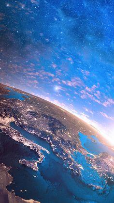 Wallpaper Iphone Space Italien Wallpaper World is part of Earth from space - Italien Italien Planets Wallpaper, Galaxy Wallpaper, Nature Wallpaper, Wallpaper Backgrounds, Space Backgrounds, Iphone Backgrounds, Iphone Earth Wallpaper, Iphone Wallpapers, Wallpaper Samsung