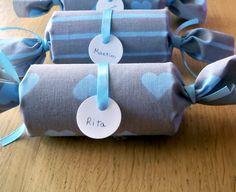 Fazer embrulhos com rolos de papel
