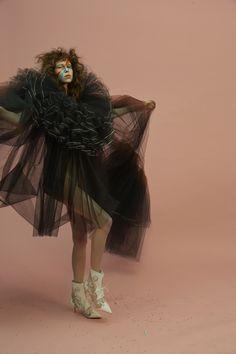 Publication: Numéro Berlin #2 May 2017 Model: Lorena Maraschi Photographer: Sol Sanchez Fashion Editor: Guillaume Boulez Hair: Pierre Saint Sever Make Up: Min Kim PART II