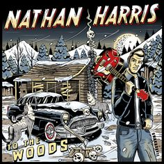 Cd cover artwork for Nathan Harris by BwnaDevil