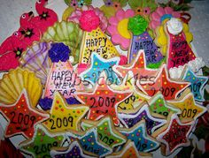 100_1134 favors for New Years Eve by Debs Cookies, via Flickr