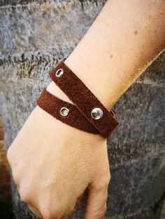 Ladies bush bracelet.  Available in brown, black and grey.  Shop online www.alloutcreations.co.za Belts, Black And Grey, Lady, Brown, Bracelets, Leather, Shopping, Jewelry, Fashion