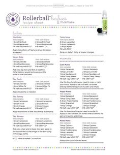 Image result for doterra rollerball recipes