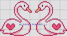 The Most Beautiful Cross Stitch Pattern Cross Stitch Heart, Cute Cross Stitch, Cross Stitch Animals, Cross Stitch Designs, Cross Stitch Patterns, Loom Beading, Beading Patterns, Embroidery Patterns, Cross Stitching