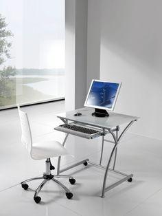 Bellissima scrivania dal design moderno e forme uniche, adattabile a qualsiasi tipo di ambiente, casalingo e non, ideale per uso contract.