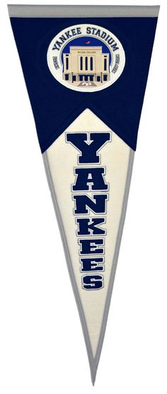New York Yankees Yankee Stadium Wool Stadium Pennant
