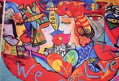 """We Are LOVE""""Sí!  Somos Amr y So@os Paz Salud Armonía #happyartbypato #patogilvillalobos"""