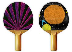 YES. Now ping pong paddles can finally be considered the portable art canvases they've always been in my heart.