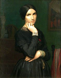Jean-Hippolyte Flandrin, Madame Hippolyte Flandrin, 1864