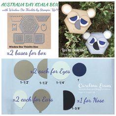 Carolina Evans - Stampin' Up! Demonstrator, Melbourne Australia: Happy Australia Day! #gdp071