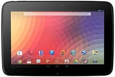 """Google Nexus 10 Tablet - 32 GB - Wi-Fi Only - 10.5"""" Screen (Certified Refurbished). This Certified Refurbished product is tested and certified to look and work like new. The refurbishing process includes functionality testing, basic cleaning, inspection, and repackaging. The product ships with all relevant accessories, a minimum 90-day warranty, and may arrive in a generic box. Only select sellers who maintain a high performance bar may offer Certified Refurbished products on Amazon.com…"""