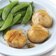 Soy-Glazed Scallops Recipe