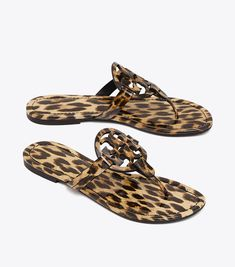Tory Burch Miller Sandal, Printed Patent Leather #toryburch