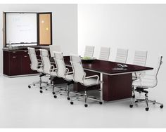 New Pimlico Laminate 8' Rectangular Conference Boardroom Meeting Office Table | eBay