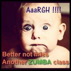 Caption Zumba