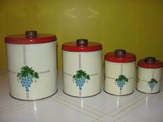 50's cannister set