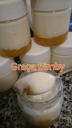 Iogurtes de ananás e coco                 .     Receita para ambas as versões bimby, TM31 e TM5.   Deu 7 frascos da iogurteira, mas são gra...