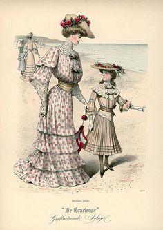 1903 fashion plate ~ De Gracieuse.