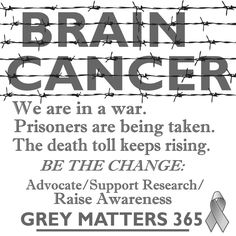 Too many people are in a battle that is not given enough recognition or research funds. Help be the change. #btsm