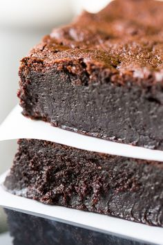 Youll love these decadent flourless brownies! Youll love these decadent flourless brownies! Made with absolutely no flour of any kind they are brimming with intense chocolate flavor and fudginess. via Recipe for Perfection Christmas Gifts